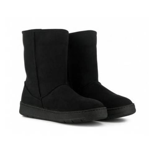 Vegetarian Shoes Snug Boot Black black 39
