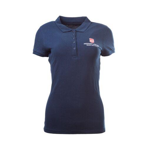 MISSION LIFELINE Seenotretter Damen Organic Cotton Polo  XL