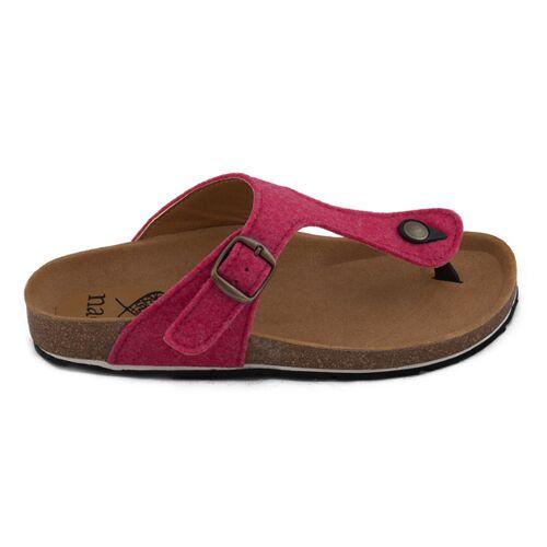 Nae Vegan Shoes Nae Kos Pet - Damen Vegan Sandalen rosa 42