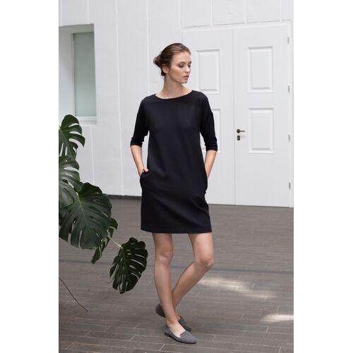 Mila.Vert Schwarzes Kleid Mit Rückenverschluss  XS