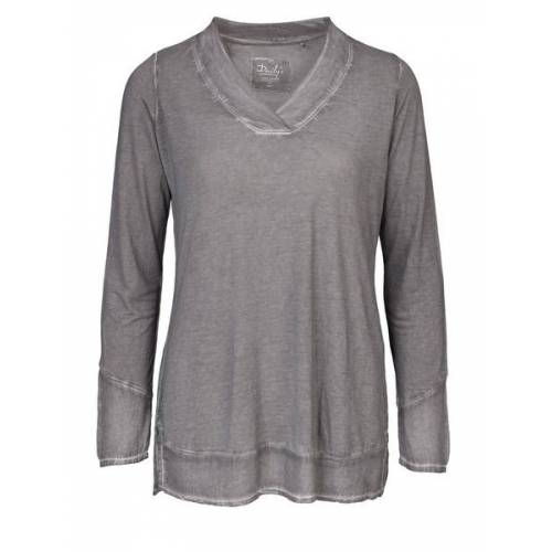 Daily's by DNB Kim: Damen Blusenshirt Mit V-ausschnitt loft S