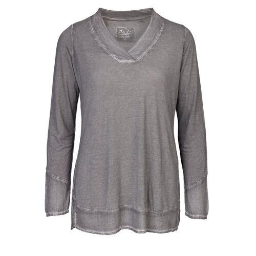 Daily's by DNB Kim: Damen Blusenshirt Mit V-ausschnitt loft L