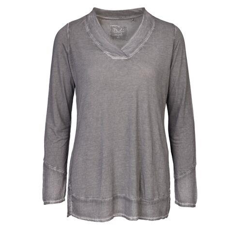 Daily's by DNB Kim: Damen Blusenshirt Mit V-ausschnitt loft XL