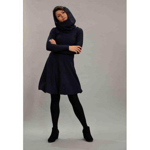 ManduTrap Baumwollkleid Mit Kapuze/hoodie In Dunkelblau dunkelblau M