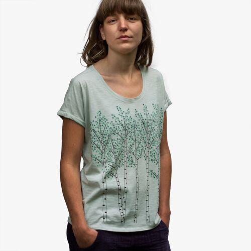 Cmig Damen T-shirt Birken In Light Opaline light opaline L
