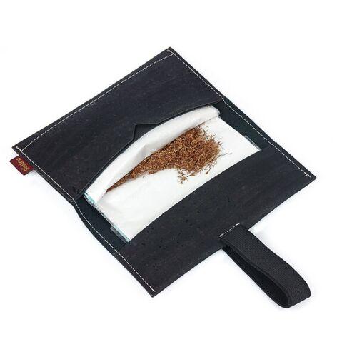 Simaru Tabaktasche / Drehertasche / Drehtabak Tasche Aus Kork schwarz