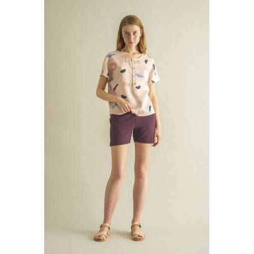 CUS Weinrote Shorts - Julia Oc-light  L