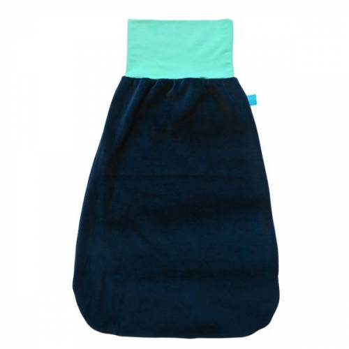 bingabonga® Strampelsack Marine marine/mint