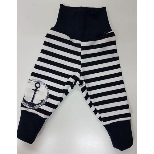 Omilich Kinder-/baby-mitwachshose Navy-stripes blau/weiß 74