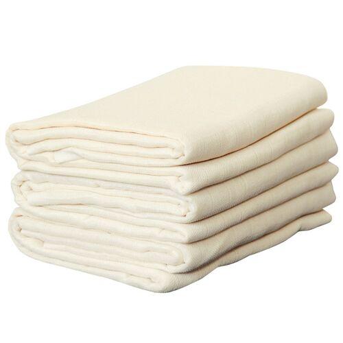 Disana Mullwindeln 5er Pack beige 5er pack 80 x 80 cm