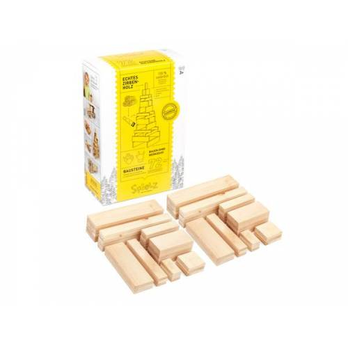 SPIELZ - Spiel mit Holz Bausteine Aus Zirbenholz