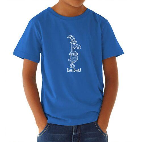 Picopoc Kein Bock ! T-shirt In Blau & Weiß Für Kinder Und Jugendliche blau 5-6 yrs / 110-116 cm