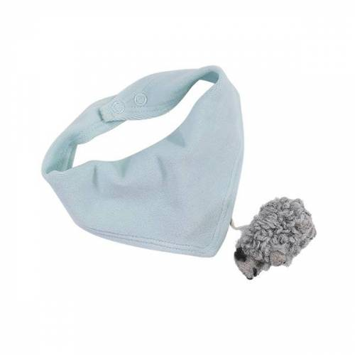 luftagoon Nicki-halstuch Mit Wollschaf-anhänger aqua