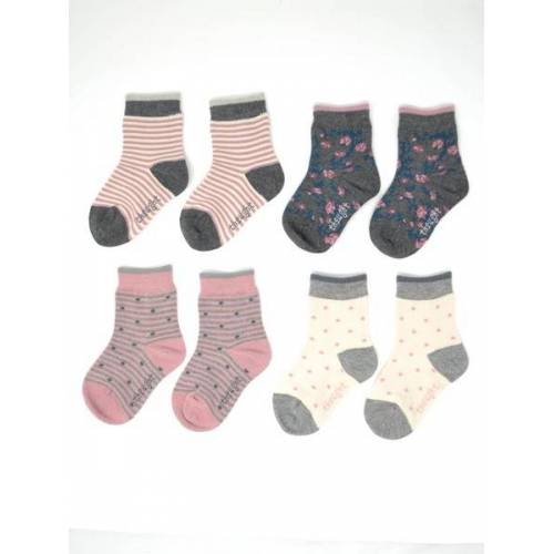 Thought l Braintree 4er Set Socken - Rose Kids Sock Box mehrfarbig (multi) 2-3 jahre