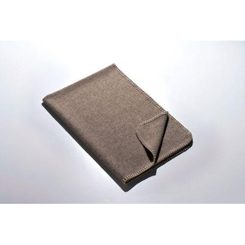 Kaipara - Merino Sportswear Die Kleine Decke - Merino-decke 70 Cm x 100 Cm (270g) schlamm