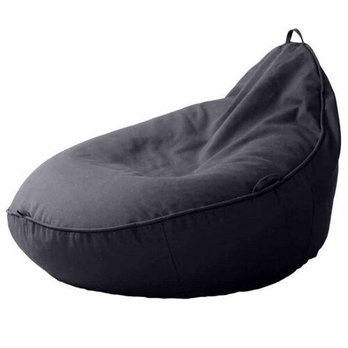Baby EcoEgg® Baby Sitzsack Mit Bio Dinkelspreu - Baby Ecoegg® anthrazit