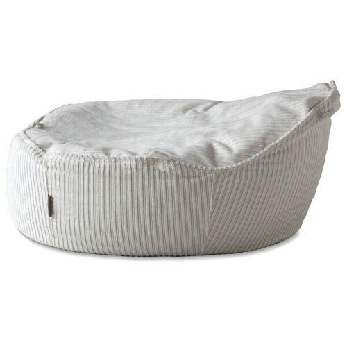Baby EcoEgg® Baby Sitzsack Mit Bio Dinkelspreu - Baby Ecoegg® In Breitcord schneeweiß