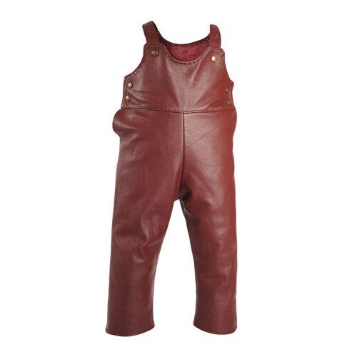Samsons Lederhose: Samsonshose 3-5 Jahre bordeaux/rot