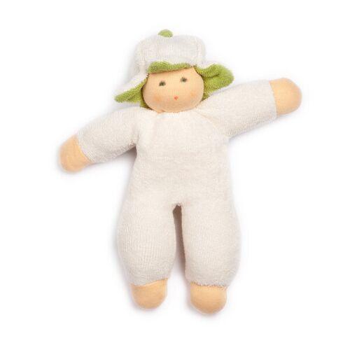 Lotties Baby Puppe Greifling Aus Bio Baumwolle Blumenfee