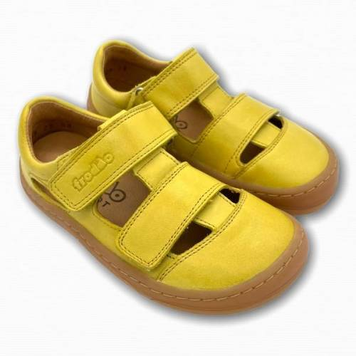 froddo Barfußschuhe Sandalen gelb 35