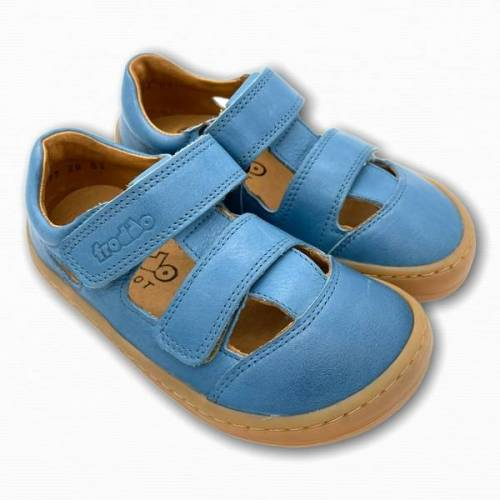 froddo Barfußschuhe Sandalen blau 35
