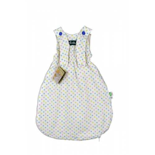 Lotties Bambini Baby Schlafsack Bio Baumwolle Ver. Farben 55-90 Cm bunte punkte 70 cm
