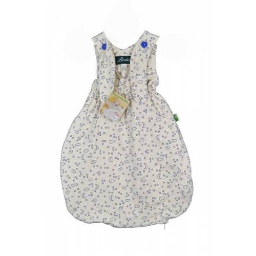 Lotties Bambini Baby Schlafsack Bio Baumwolle Ver. Farben 55-90 Cm mond / sterne 90 cm