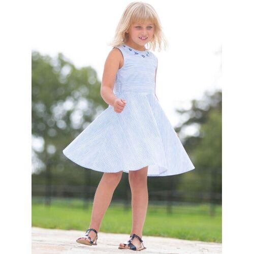 Kite Clothing Kite Mädchen Skater Kleid Streifen Stickerei  146