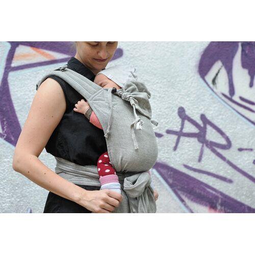 Girasol Baby Tragehilfe Mysol Tulum Grau grau