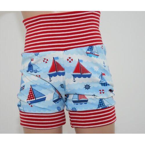 Omilich Kurze Kinder-/baby-mitwachshose Segelboote  50-74