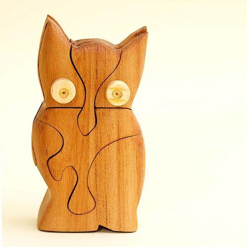 Ecowoods 3d Holzpuzzle - Eule