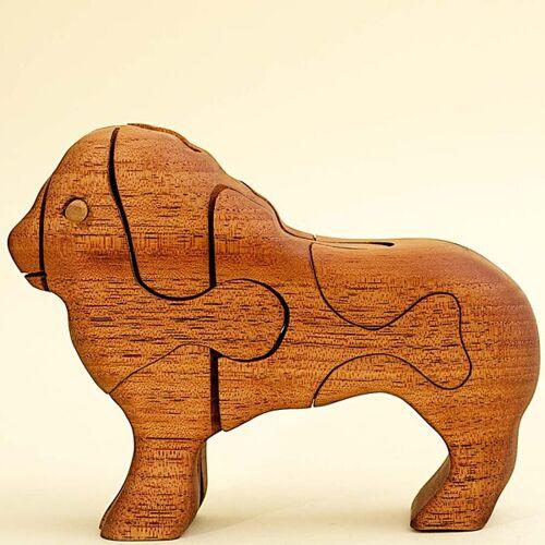 Ecowoods 3d Holzpuzzle - Löwe
