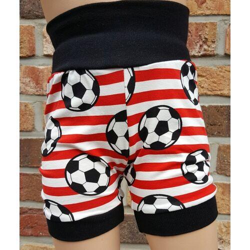 Omilich Kurze Kinder-/baby-mitwachshose Fußball Rot rot 50-74