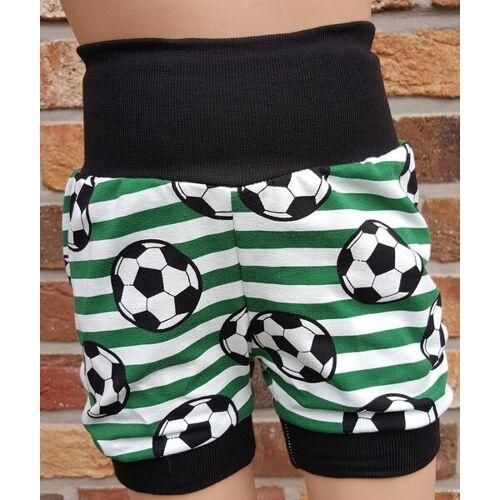 Omilich Kurze Kinder-/baby-mitwachshose Fußball Grün grün 50-74