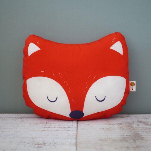 TELL ME Kleines Kissen Fuchs Aus Bio-baumwolle