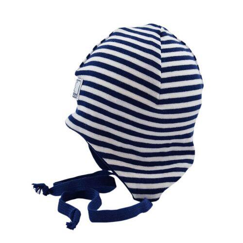 Pickapooh Baby Mütze Radler marine/weiß 46