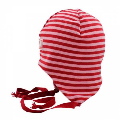 Pickapooh Baby Mütze Radler rot/rosa 42