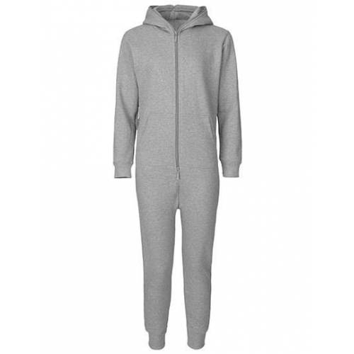 Neutral Kinder Teenager Hausanzug Jumpsuit sports grey 152/158