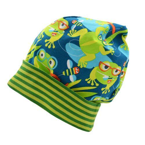 Pickapooh Baby / Kinder Mütze Luca Bio-baumwolle frosch 56