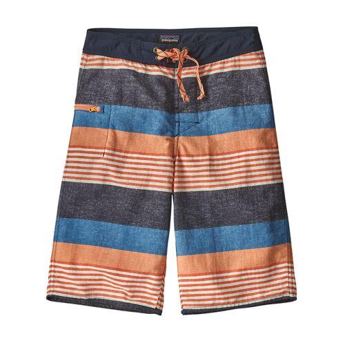 Patagonia Badehose - Boys' Wavefarer Boardshorts blau (fitz stripe) 122/128