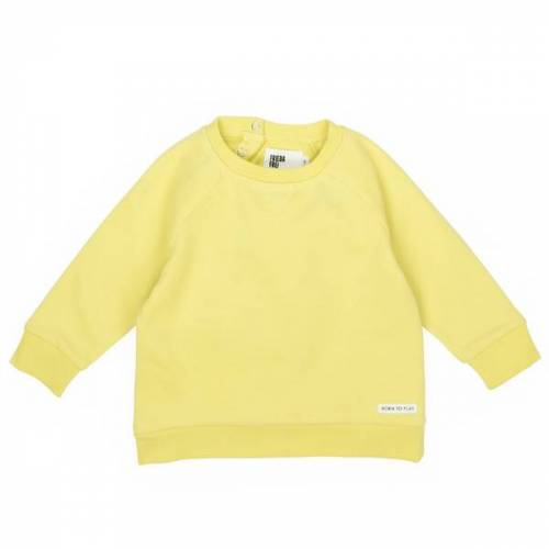 FRIEDA FREI Sweater Solid Friend jumping yellow 62-68