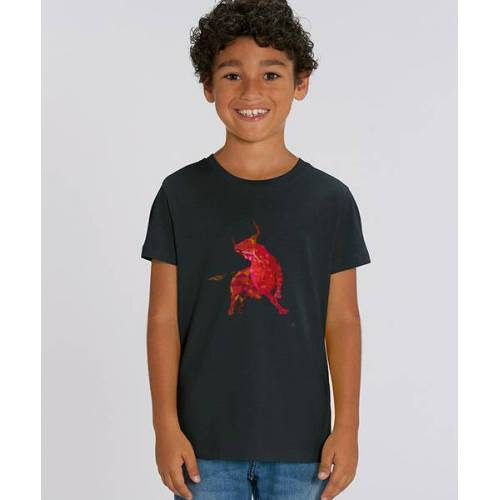 Kultgut T-shirt Mit Motiv / Redbull schwarz 3-4 jahre