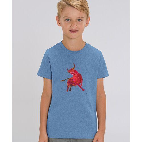 Kultgut T-shirt Mit Motiv / Redbull blau 7-8 jahre