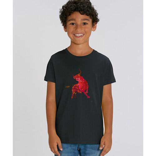 Kultgut T-shirt Mit Motiv / Redbull schwarz 7-8 jahre