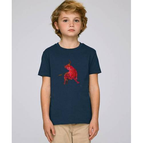 Kultgut T-shirt Mit Motiv / Redbull navy 12-14 jahre