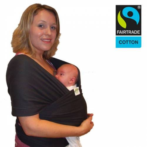 Kangawraps Bio Babytragetuch - Kangawraps - Schwarz schwarz