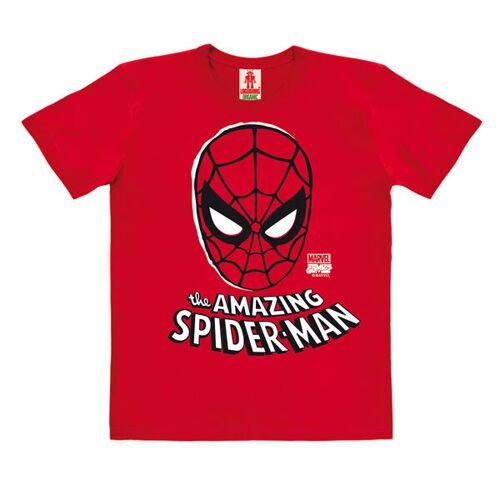 LOGOSH!RT Logoshirt - Marvel Comics - Spider-man - Maske - Kinder - Bio T-shirt rot 140