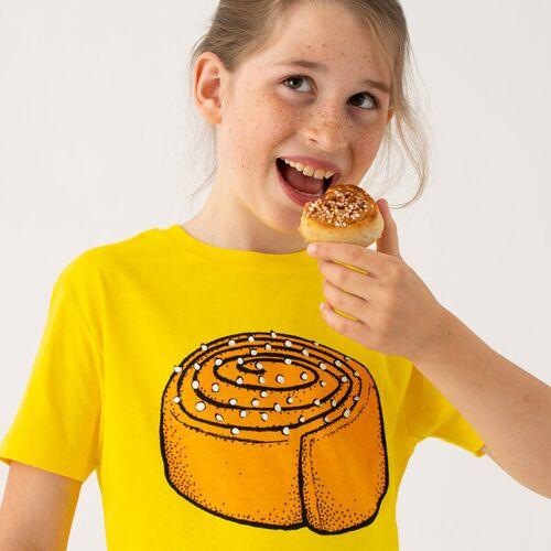 Cmig Kinder T-shirt Zimtschnecke In Gelb gelb 134/140