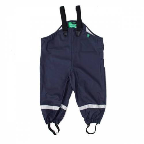Fred's World by Green Cotton Baby / Kinder Regenhose Polyester/recycled Schadstofffrei navy 134