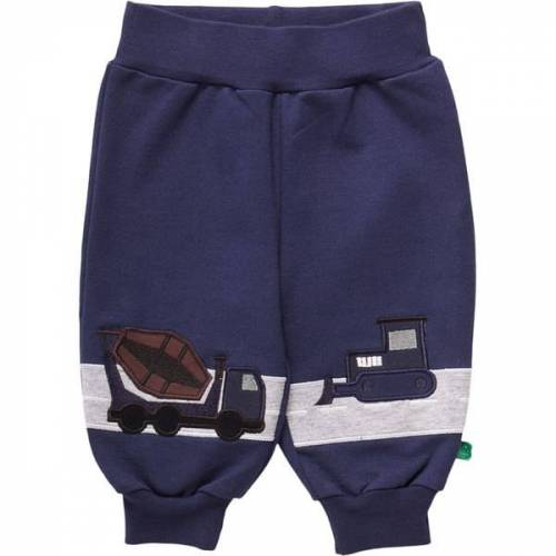 Fred's World by Green Cotton Baby Hose Bauarbeiter navy 80